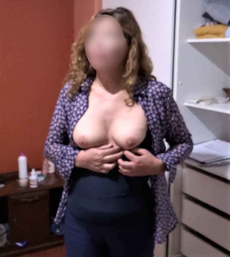 My mature wife, watch her videos too - 35 Pics