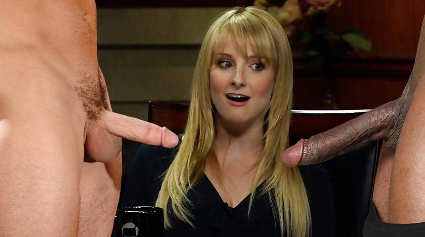 Melissa Rauch Real Boobs