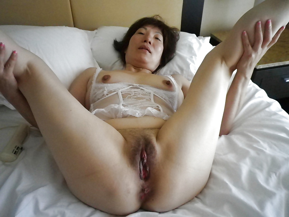 Mature asian hairy pussy