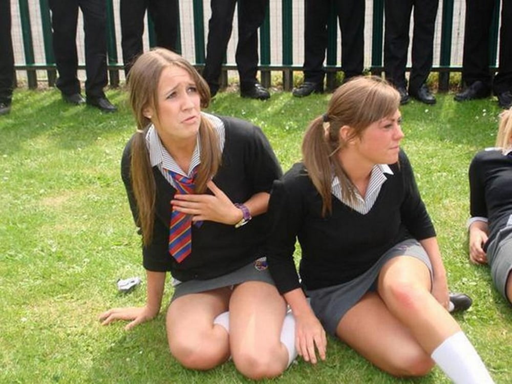 Upskirt real teen catholic student