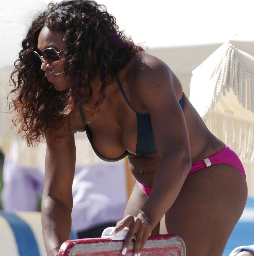 Serena Williams Shares Sexy Bikini