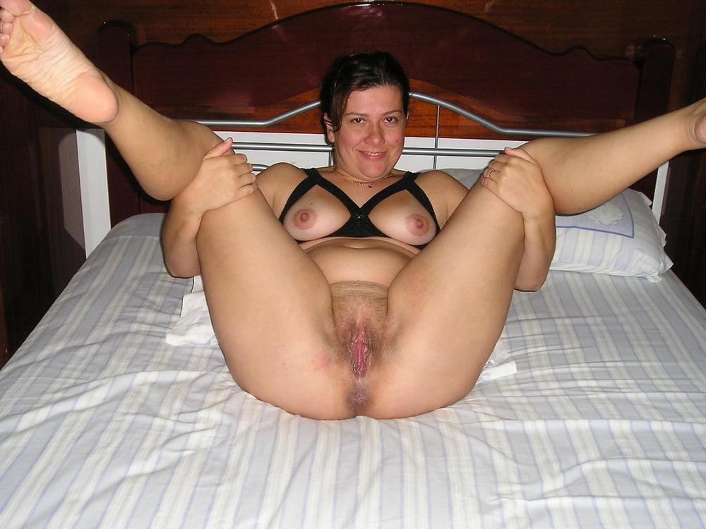 Hairy legs spread