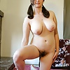 Chubby amateur housewife poses nude - jerk off for her
