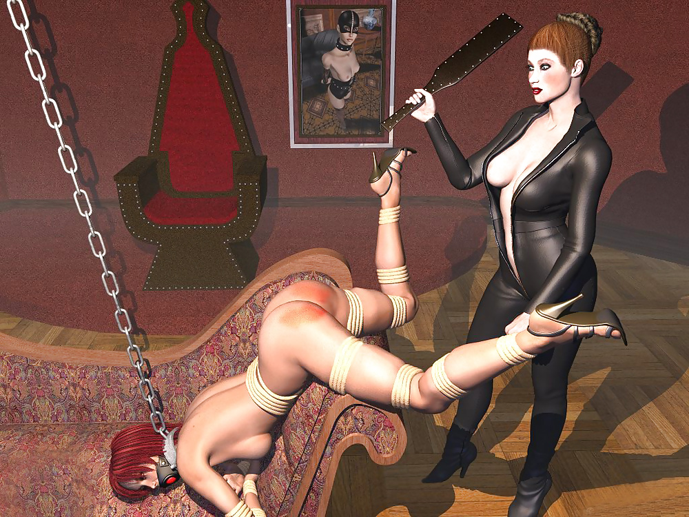Femdom mistress art