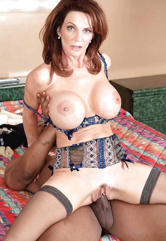 Hot horny milf cougar deauxma fucks big black cock fan