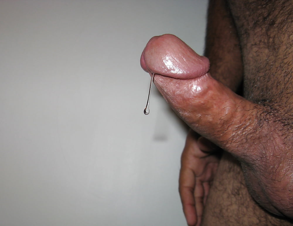 Old dripping cock