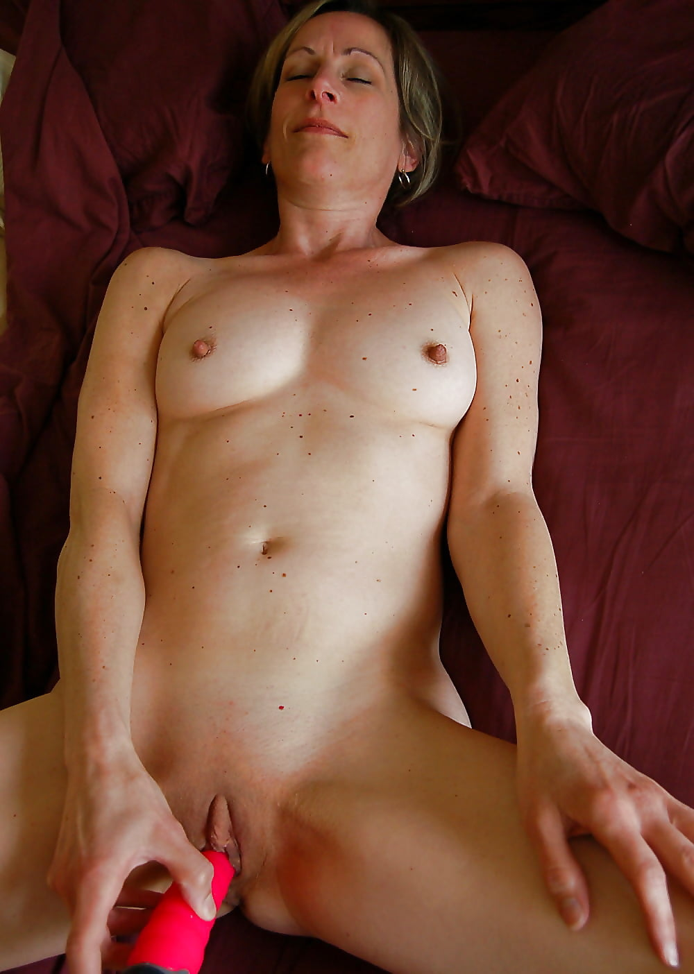 Hairy Naked Mom Masturbating Together