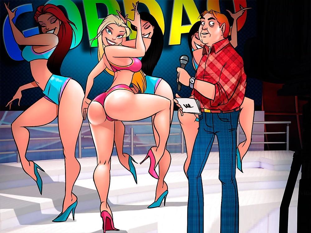 Sexy toons comic