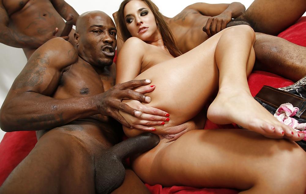 Cute Pale European Teen Emily Bloom In Interracial Sex Behind Scenes