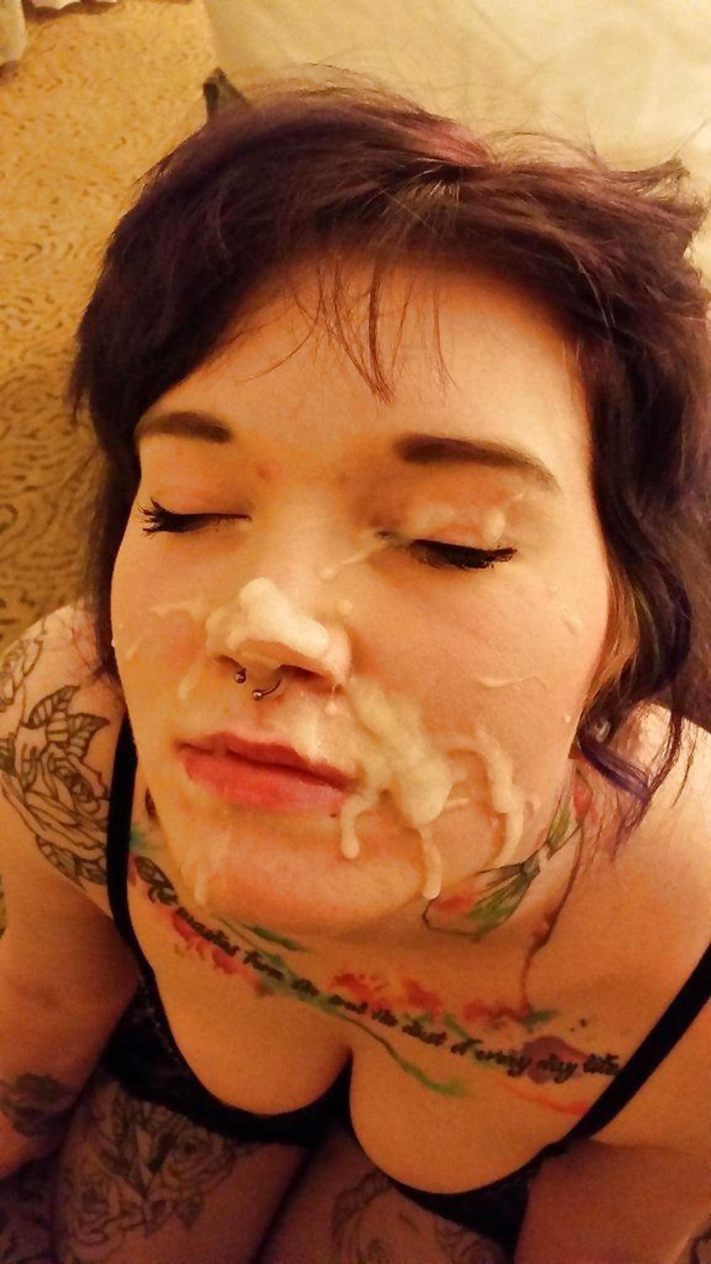 Sexy emo girls bukkake 13
