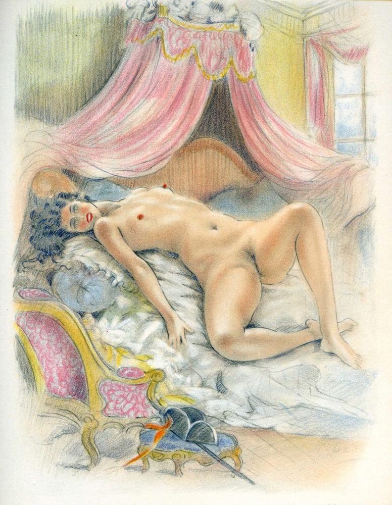 она эротические рисунки орловского девушках какой-то определенной