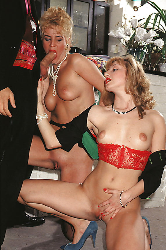 Sexy Monica Sales and Guilietta Barisi with Rocco