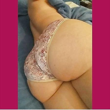 big white ass in panties