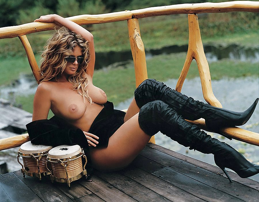 Rachel hunter naked — photo 14