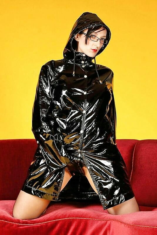 Masturbation rubber raincoat — pic 7