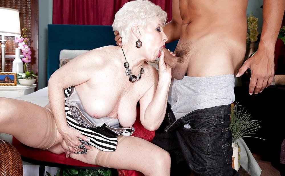 Grandma gives a sex lesson xxx clip