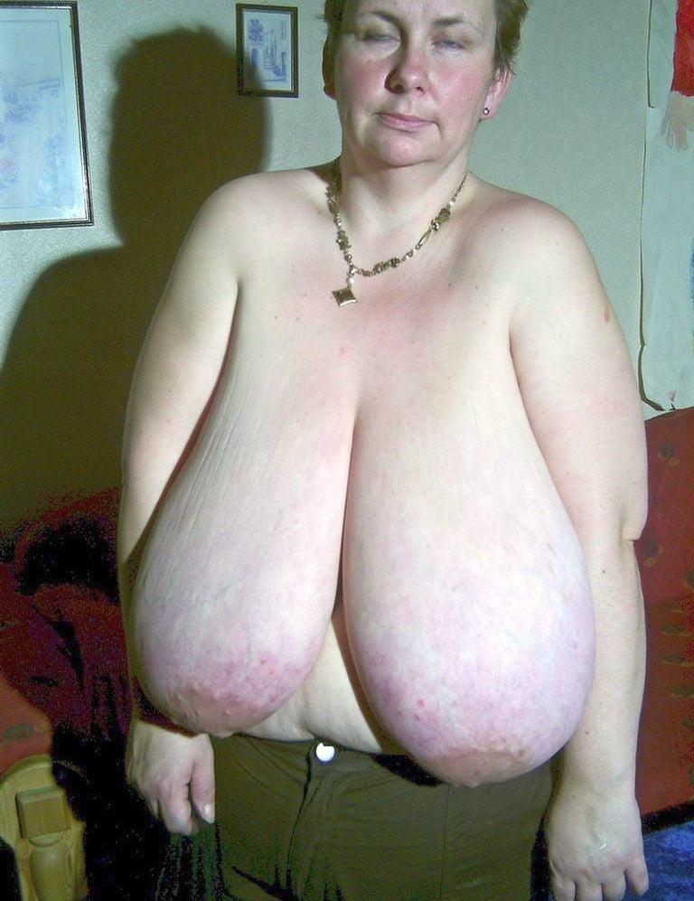 Старые толстые женщины с большими отвисшими сиськами — img 4