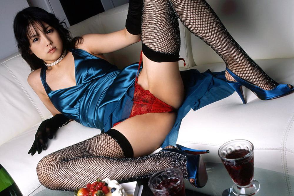 Japanese girl black stockings - 9 Pics