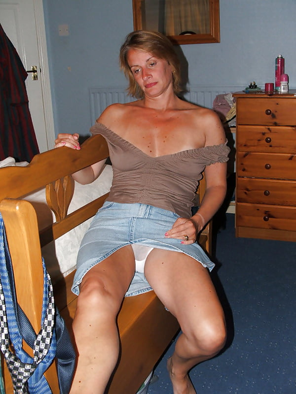 Best Mature Amateur Ladies Wearing White Panties 9-Pix Mix -9942