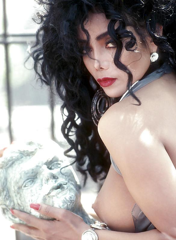 Latoya jackson naked in playboy, nude female covered with stickiness