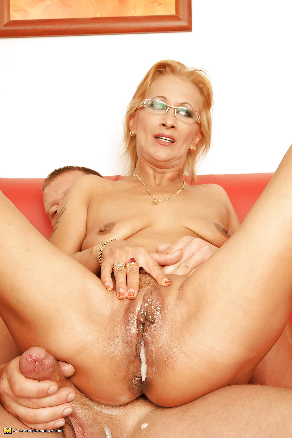 Older milf cream