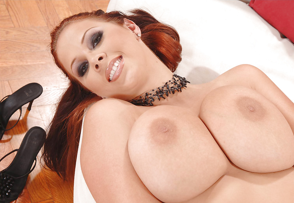 Big tit maid gianna michaels blows five guys