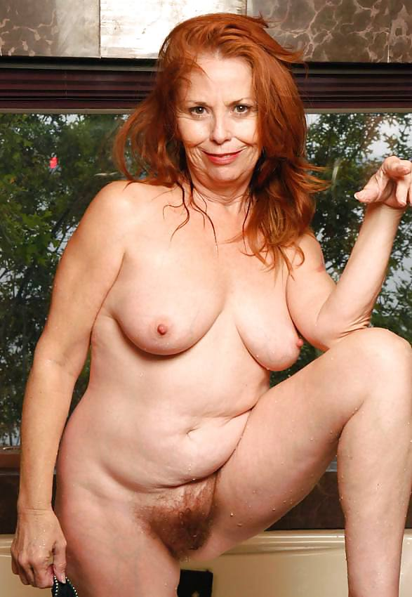 Red headed nude mature women