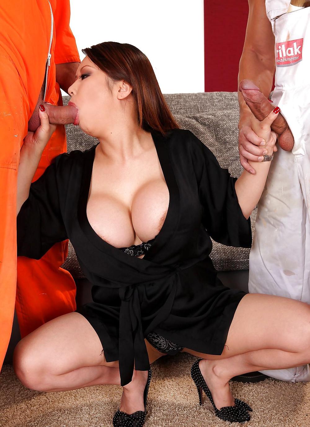 Порно копилка с сиськастыми азиатками