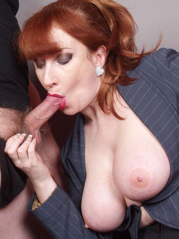 Petite redhead milf anal