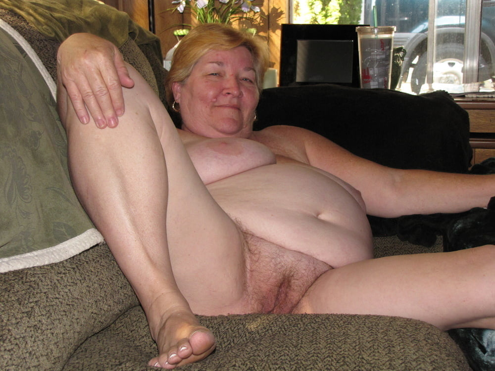 Nude pics of fat granny titties