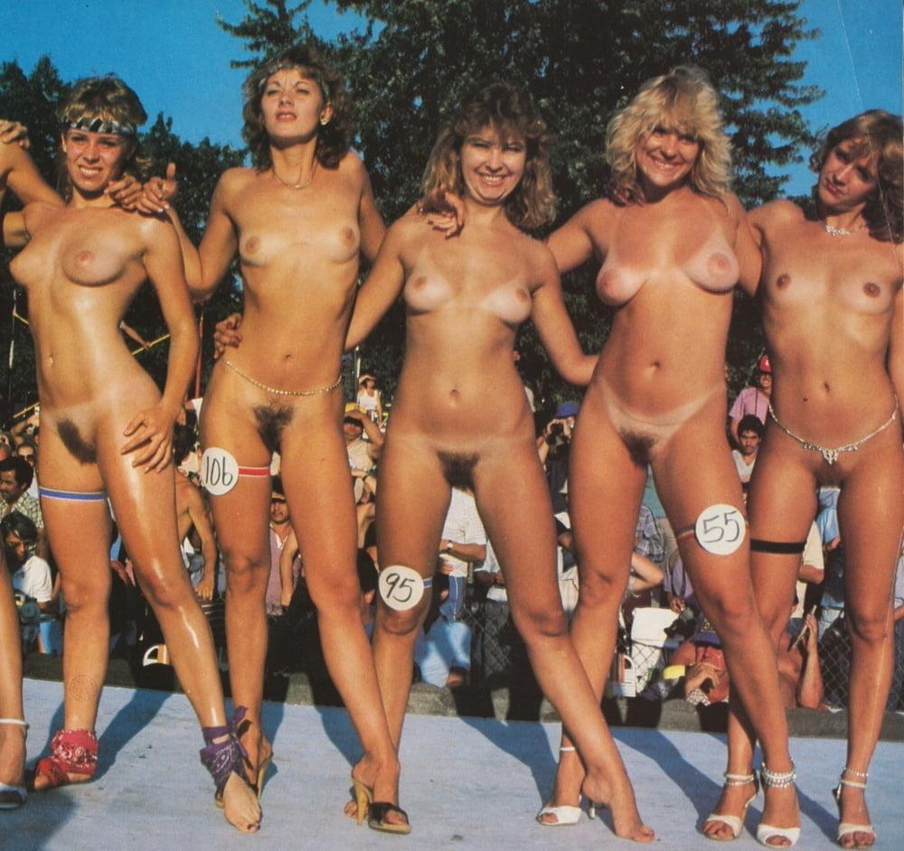 Vintage beach breast contest, free porns vids