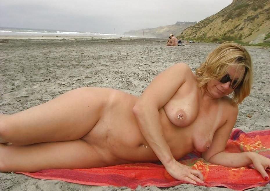Cat tube moms nude on beach