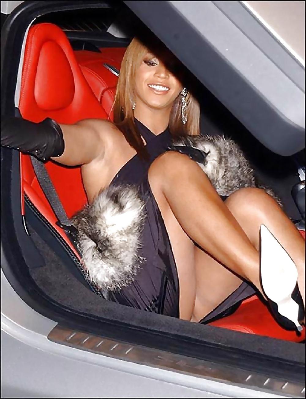 Beyonce Up Skirt