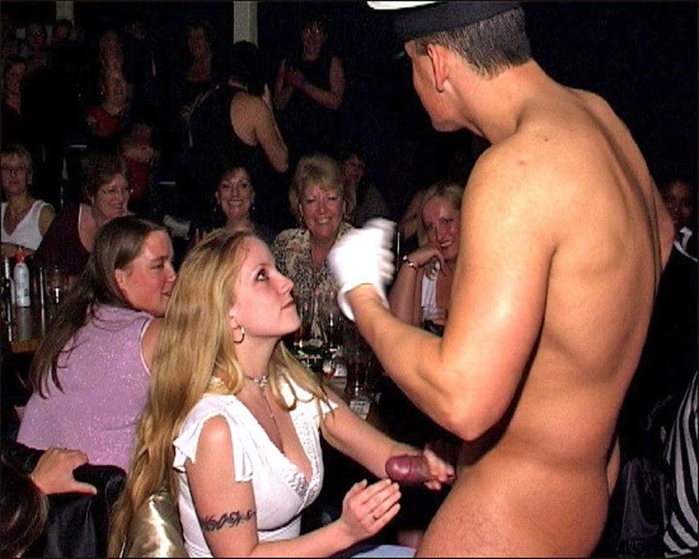 London strip club handjob