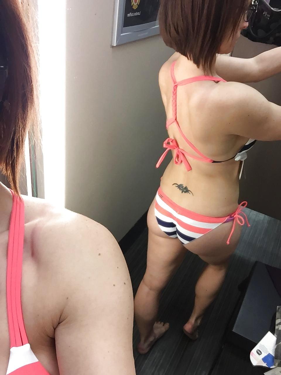 dressing room bikini