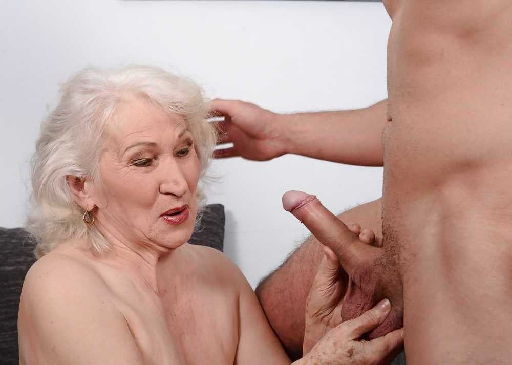 Busty Older Woman Loves Young Dick