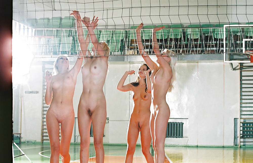 Volleyball player nude