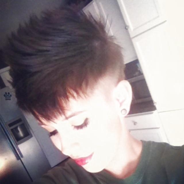 fetish Short haircut