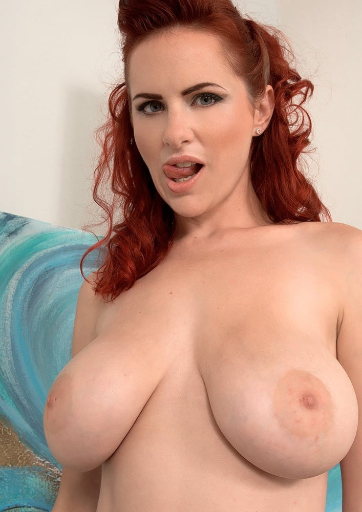 Redhead big tits milf red tube — pic 1