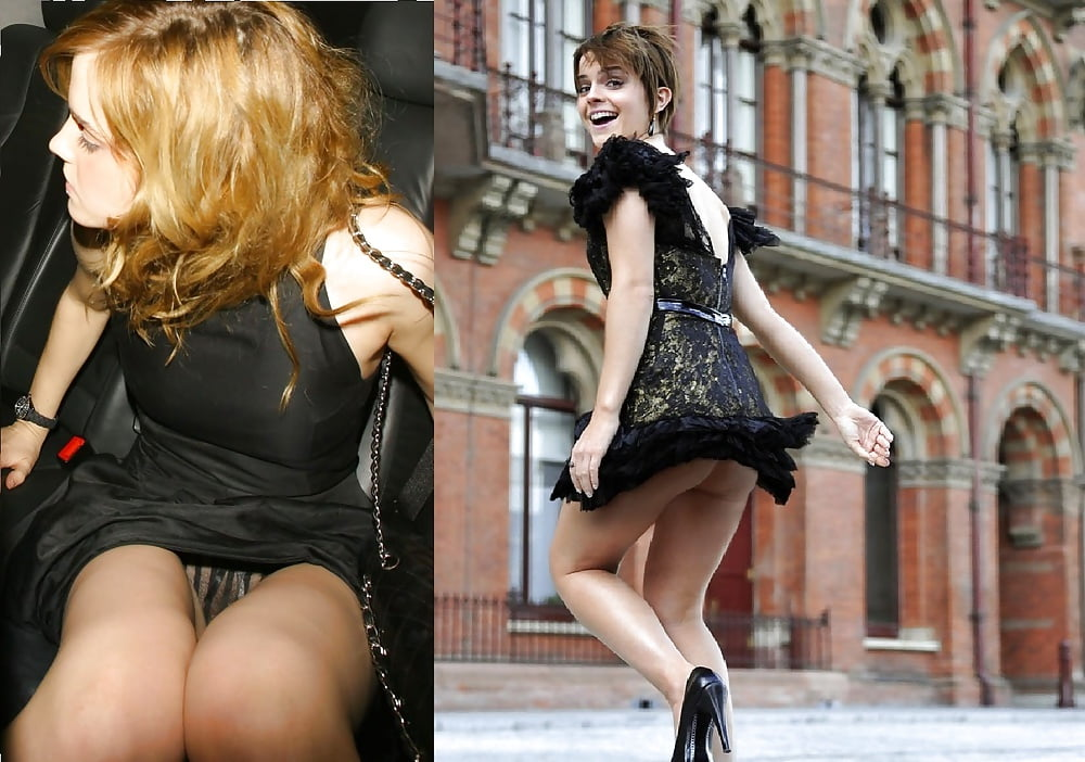 See And Save As Emma Watson Upskirts Fakes Porn Pict