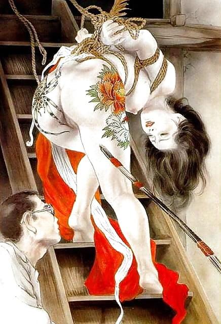Luna rodriguez y dracox shibari erotic show en el feda 2015 - 1 part 9