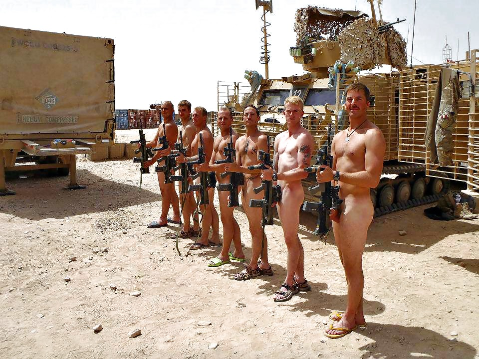 Soldiers Naked And Free Army Men Jacking Gay Yes Drill