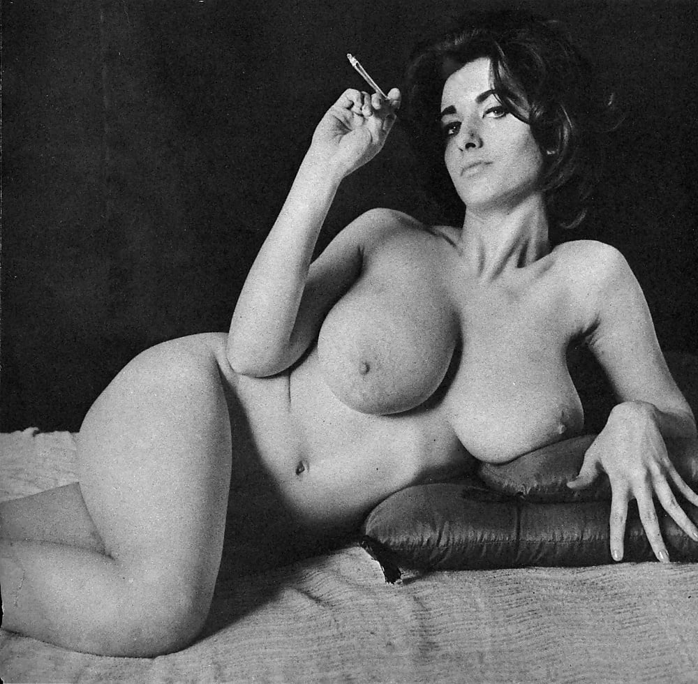 Black And White Vintage Nude Art Photograph