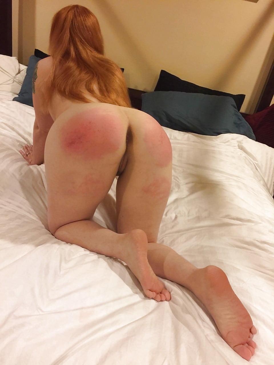 Naked amateur spank — img 11