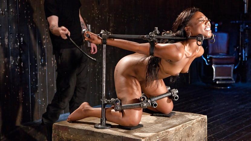And black bondage tubes girls