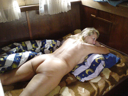German amateur on her p&period