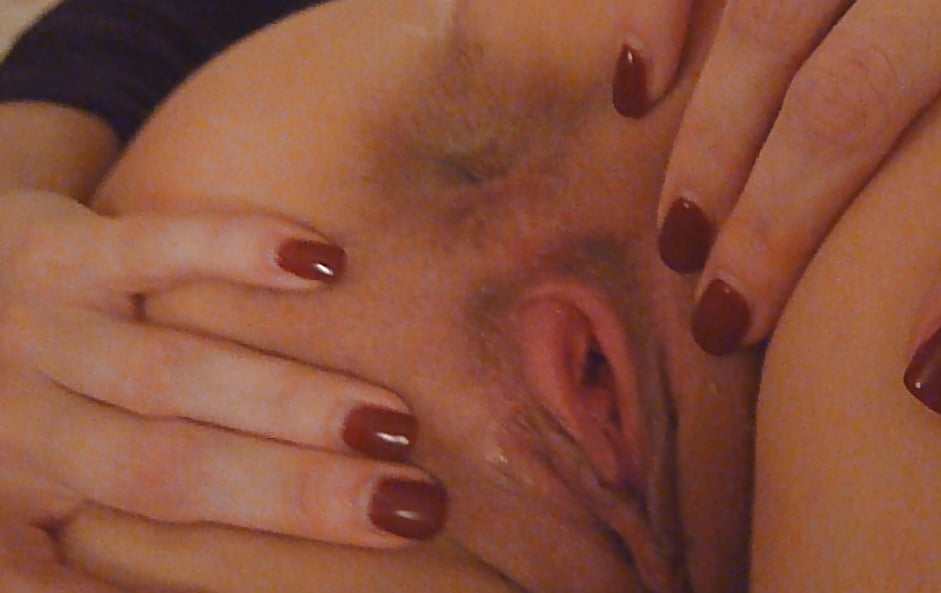 Cute girl gets dirty with her man