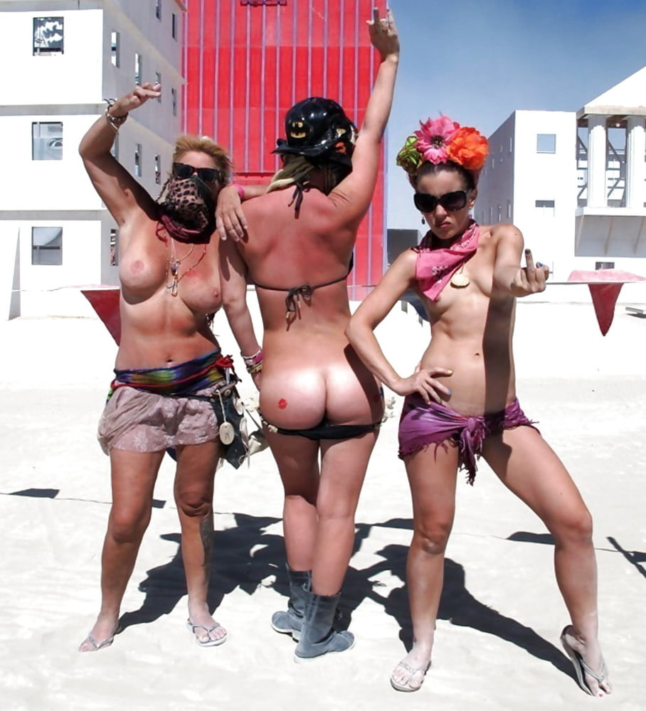Burning man photos girls porno — pic 15