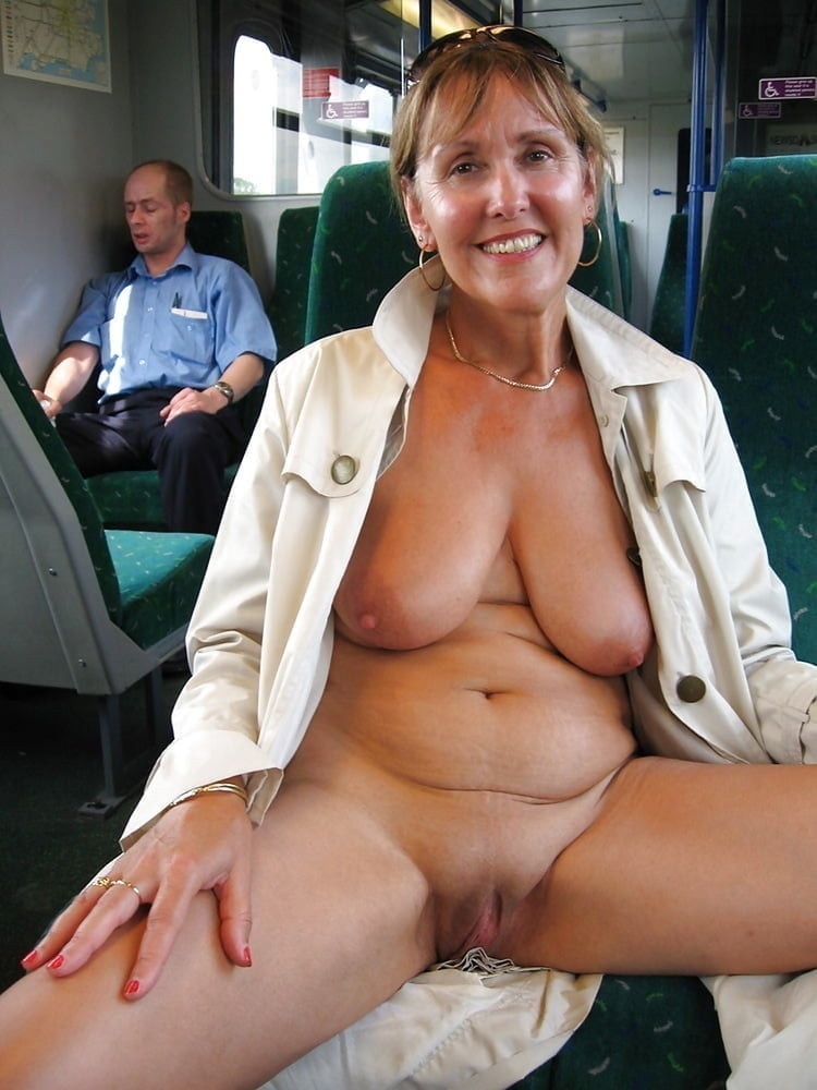 Older women nude public
