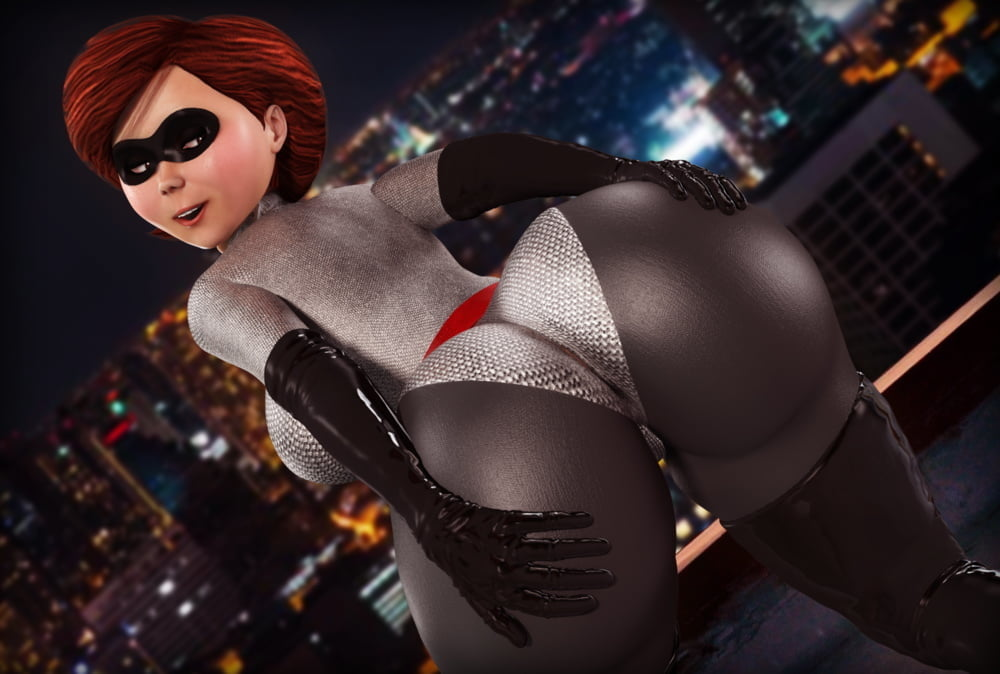 The incredibles cosplay blowjob